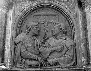 Luther and Melanchthon 1