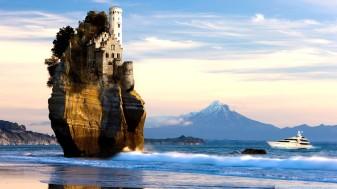 castillo sobre la roca-614010