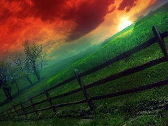 paisajes-atardecer-sol-en-el-horizonte