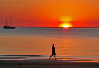 The-beautiful-sunset-in-Darwin