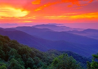 Blue-Ridge-Sunrise 2