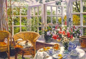 Stephen Darbishire 1940 - British Interiors and Landscape painter - Tutt'Ar@ (23)