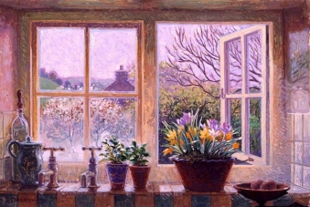 Stephen Darbishire 1940 - British Interiors and Landscape painter - Tutt'Art@ (18)