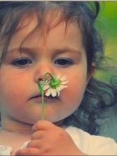 child - flower