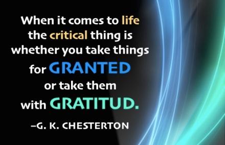 Gratitud:Chesterton