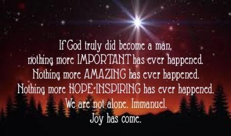 Joy has come:JS